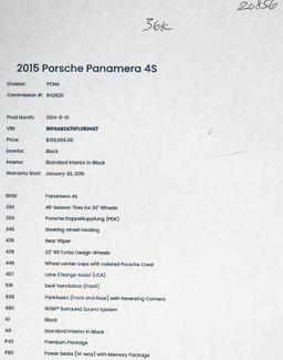 2015 Porsche Panamera 4S in Alexandria VA