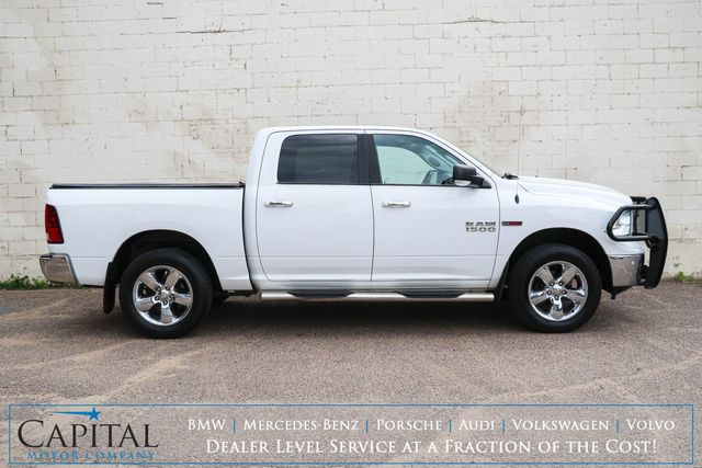 2015 Ram 1500 Big Horn ECO-Diesel Crew Cab 4x4 w/Backup Cam, Heated Front and Rear Seats, Tow Package in Eau Claire, Wisconsin 54703