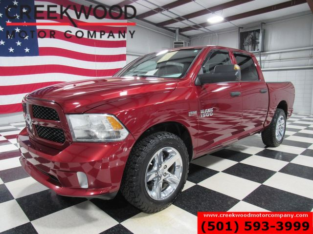 2015 Ram 1500 Dodge Express 4x4 Hemi Red Chrome 20s New Tires 1 Owner