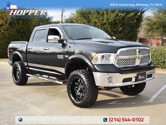 2015 Ram 1500 Laramie W/Custom Lift Wheels and Tires in McKinney, Texas 75070