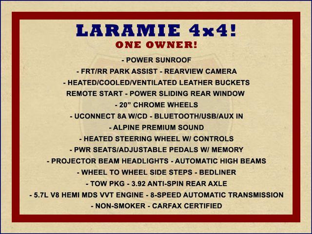 2015 Ram 1500 Laramie Crew Cab 4x4 - SUNROOF! Mooresville , NC 1