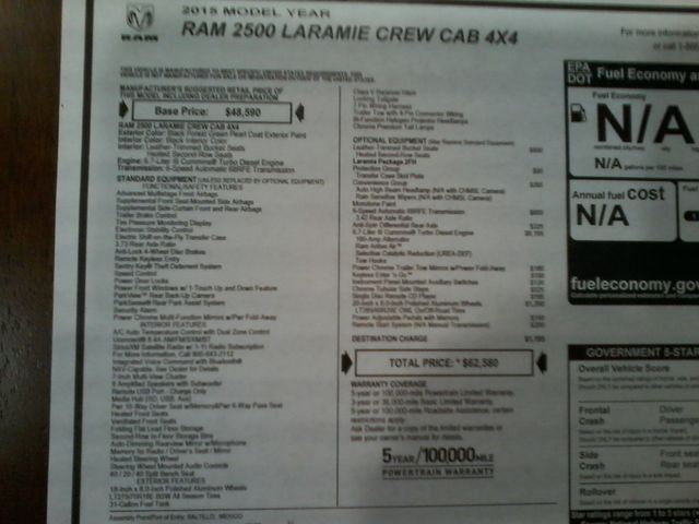2015 Ram 2500 Laramie Boerne, Texas 37