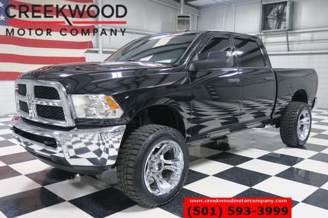 2015 Ram 2500 Dodge SLT 4x4 Diesel Lifted Chrome 22s M/T Tires Black in Searcy, AR