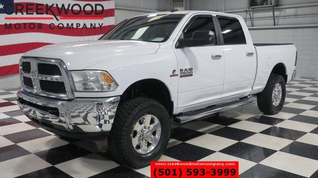 2015 Ram 2500 Dodge SLT 4x4 Diesel White New Tires Chrome 18s CLEAN