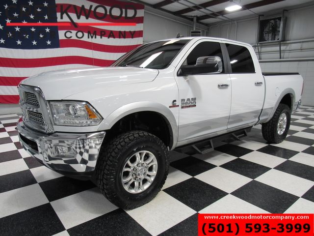 2015 Ram 2500 Dodge Laramie 4x4 Diesel White Leveled New Tires Chrome in Searcy, AR 72143