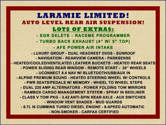 2015 Ram 2500 Laramie Limited Crew Cab 4x4 - AIR SUSPENSION! Mooresville , NC 1