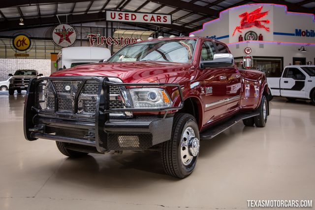 2015 Ram 3500 Laramie 4X4 Dually in Addison Texas, 75001