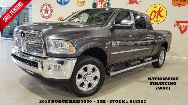 2015 Dodge RAM 3500 Longhorn Limited 4X4 HEMI,NAV,HTD/COOL LTH,35K