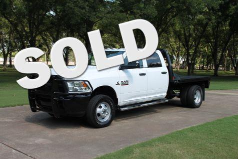2015 Ram 3500 Crew Cab 4WD Flatbed Diesel  in Marion, Arkansas