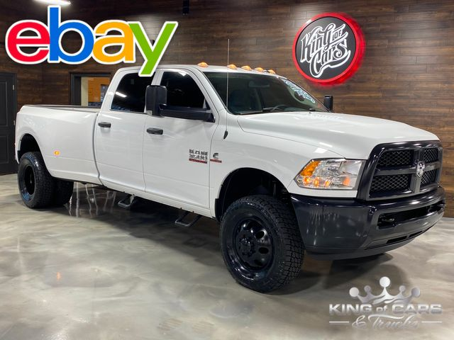 2015 Ram 3500 Cummins Diesel 4x4 6-SPEED MANUAL CREW DRW 38K MILE WOW