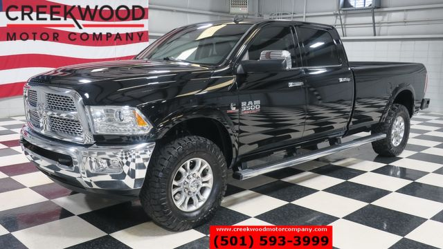 2015 Ram 3500 Dodge SRW Laramie 4x4 Diesel Black Leather Nav Long Bed