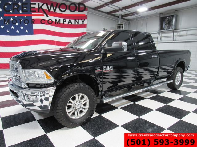 2015 Ram 3500 Dodge SRW Laramie 4x4 Diesel Black Leather Nav Long Bed in Searcy, AR 72143