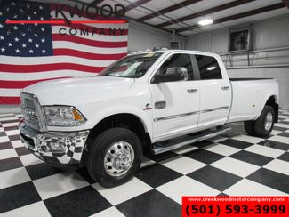 2015 Ram 3500 Dodge Longhorn Laramie 4x4 Diesel Dually White Nav CLEAN in Searcy, AR 72143