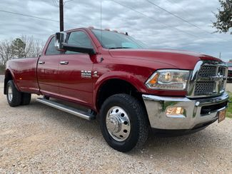 2015 Ram 3500 DRW Laramie Crew Cab 4X4 6.7L Cummins Diesel Auto in Sealy, Texas 77474