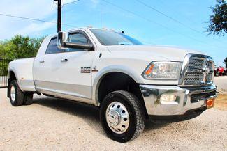 2015 Ram 3500 DRW Laramie Mega Cab 4X4 6.7L Cummins Diesel Aisin Auto in Sealy, Texas 77474