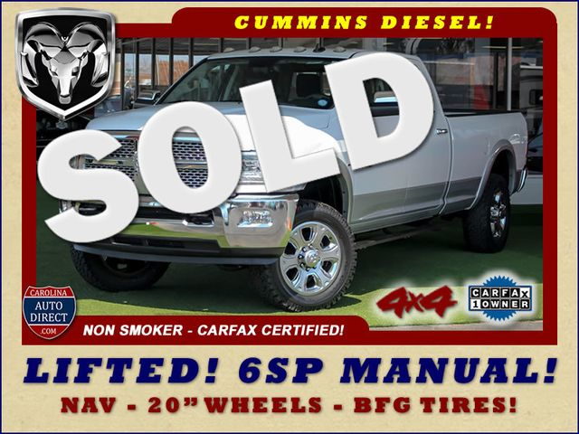 2015 Ram 3500 Laramie Crew Cab Long Bed 4x4 - LIFTED - 6SP! Mooresville , NC 0