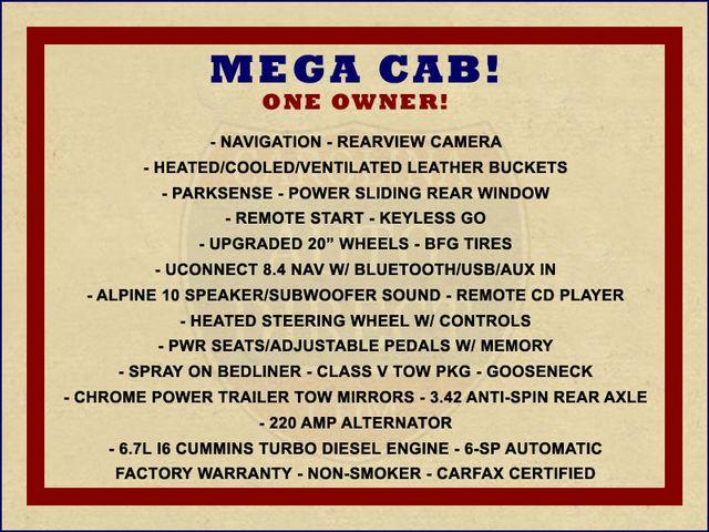 "2015 Ram 3500 Laramie MEGA Cab 4x4 - NAV - 20"" WHEELS! Mooresville , NC 1"