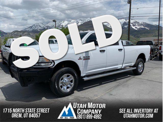 2015 Ram 3500 Tradesman   Orem, Utah   Utah Motor Company in  Utah