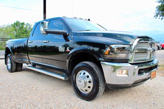 2015 Ram 3500 Laramie Longhorn Crew Cab 4x4 6.7L Cummins Diesel Dually Auto in Sealy, Texas 77474