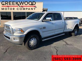 2015 Ram 3500 Dodge Longhorn Laramie 4x4 Diesel Dually White Nav CLEAN in Searcy, AR 72143