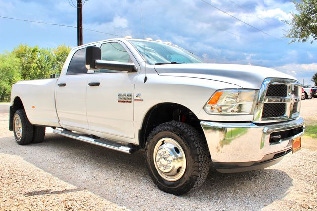 2015 Ram 3500 Tradesman Crew Cab 4X4 6.7L Cummins Diesel Auto Dually in Sealy, Texas 77474