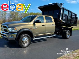 2015 Ram 4500 Crew 4x4 Hemi STAKE BODY DUMP 1-OWNER 57K MILES in Woodbury, New Jersey 08093