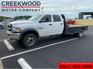 2015 Ram 4500 Dodge Flatbed Dually 4x4 Cummins Diesel Aisin Auto White in Searcy, AR 72143