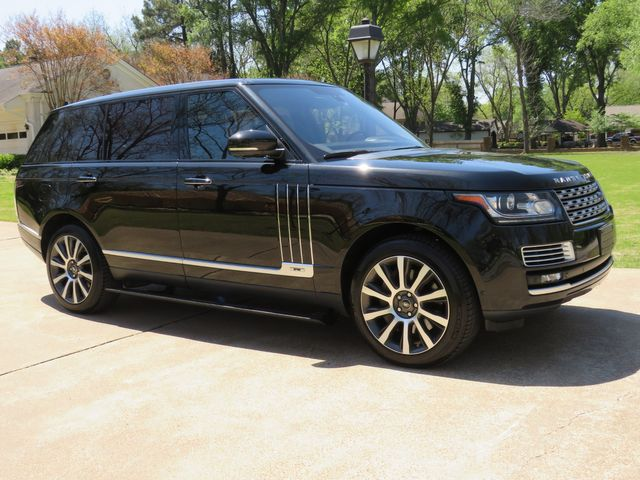 2015 Range Rover Autobiography Black LWB MSRP New $187490