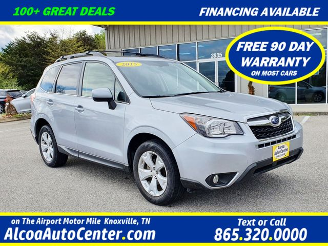 2015 Subaru Forester 2.5i Limited w/Leather/Navigation/HARMAN Sound