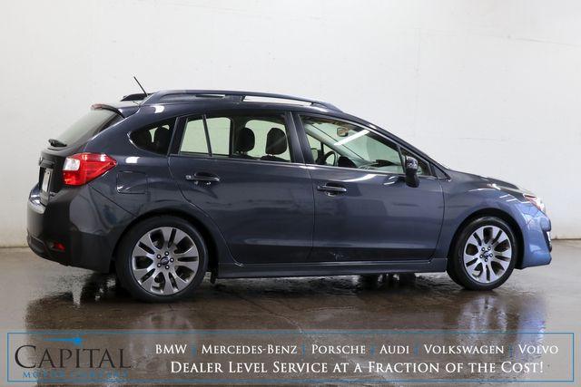 2015 Subaru Impreza 2.0i Sport Limited AWD Wagon w/Touchscreen Multimedia, Backup Cam, Heated Seats and Moonroof in Eau Claire, Wisconsin 54703