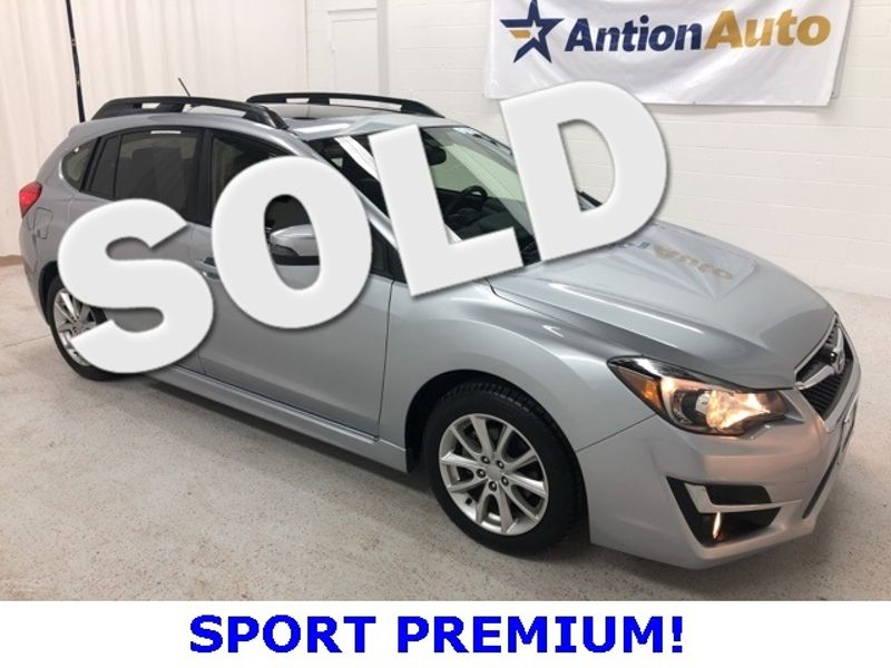 2015 Subaru Impreza 2.0i Sport Premium | Bountiful, UT | Antion Auto in Bountiful UT