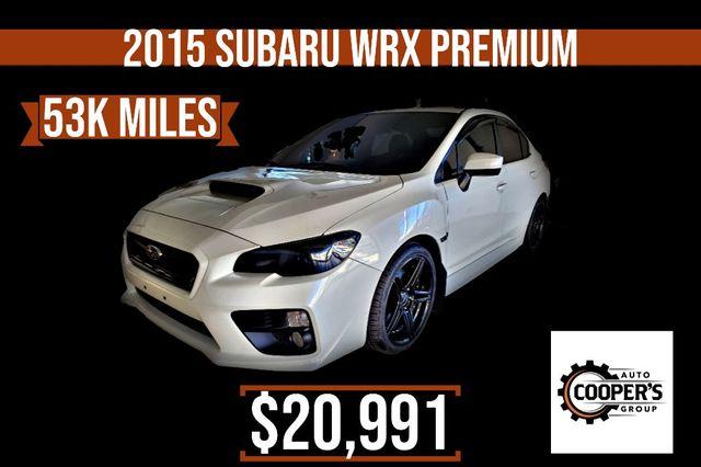 2015 Subaru WRX Premium