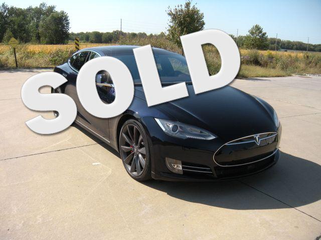 2015 Tesla Model S P85D W/LUDICROUS MODE