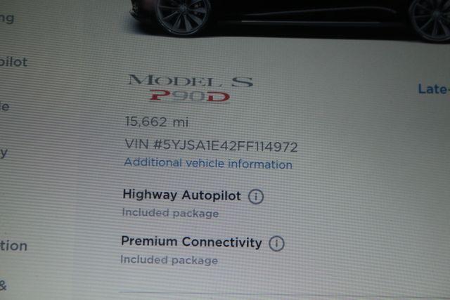 2015 Tesla Model S P90D Houston, Texas 48