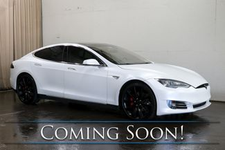 2015 Tesla Model S P85D AWD 100% Electric w/AutoPilot, Nav, Panoramic Roof, Heated Seats & 3rd Row Seats in Eau Claire, Wisconsin 54703