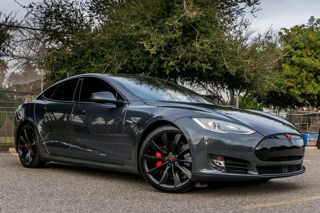 "2015 Tesla Model S 70D - AUTOPILOT - 21"" WHEELS - PREMIUM SOUND Reseda, CA 4"