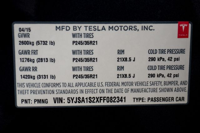 "2015 Tesla Model S 70D - AUTOPILOT - 21"" WHEELS - PREMIUM SOUND Reseda, CA 38"