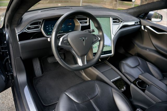 "2015 Tesla Model S 70D - AUTOPILOT - 21"" WHEELS - PREMIUM SOUND Reseda, CA 17"