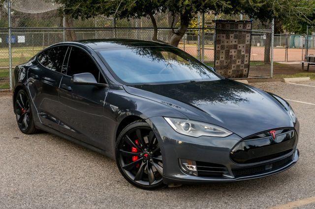"2015 Tesla Model S 70D - AUTOPILOT - 21"" WHEELS - PREMIUM SOUND Reseda, CA 45"