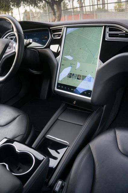 "2015 Tesla Model S 70D - AUTOPILOT - 21"" WHEELS - PREMIUM SOUND Reseda, CA 24"