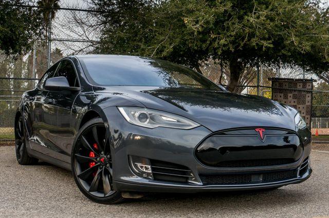 "2015 Tesla Model S 70D - AUTOPILOT - 21"" WHEELS - PREMIUM SOUND Reseda, CA 44"