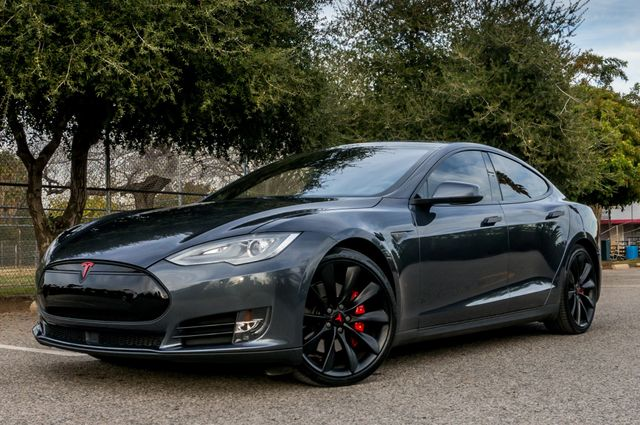 "2015 Tesla Model S 70D - AUTOPILOT - 21"" WHEELS - PREMIUM SOUND Reseda, CA 1"