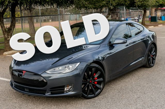 "2015 Tesla Model S 70D - AUTOPILOT - 21"" WHEELS - PREMIUM SOUND Reseda, CA"