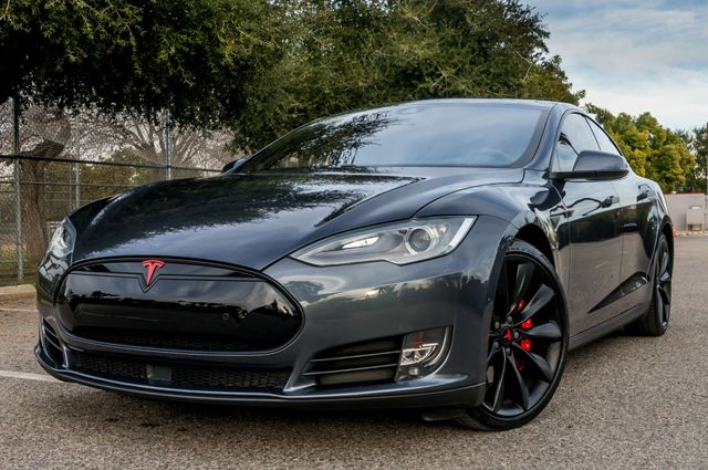 "2015 Tesla Model S 70D - AUTOPILOT - 21"" WHEELS - PREMIUM SOUND Reseda, CA 43"