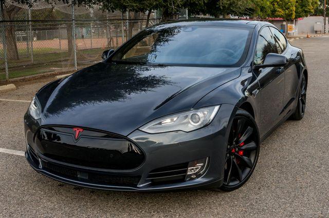 "2015 Tesla Model S 70D - AUTOPILOT - 21"" WHEELS - PREMIUM SOUND Reseda, CA 40"