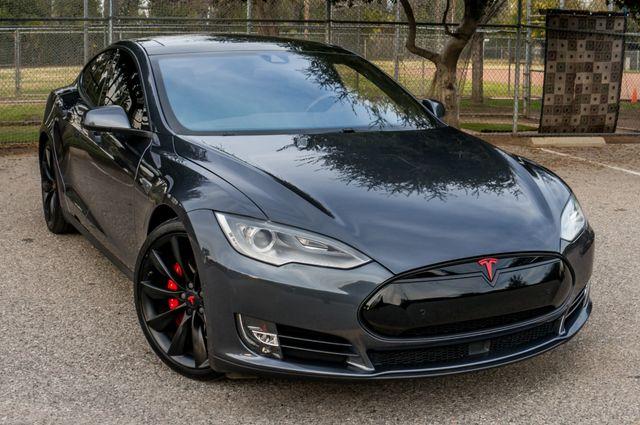 "2015 Tesla Model S 70D - AUTOPILOT - 21"" WHEELS - PREMIUM SOUND Reseda, CA 42"
