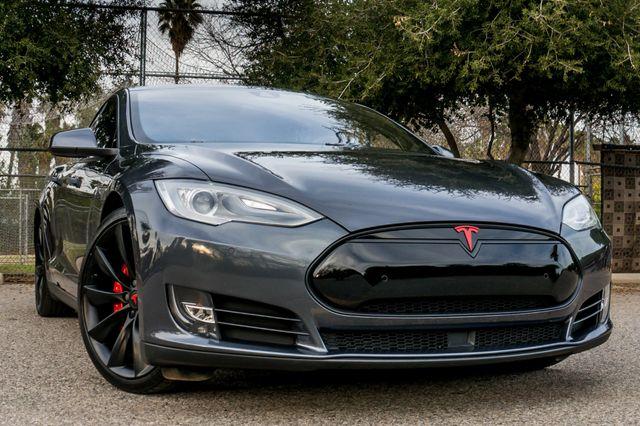 "2015 Tesla Model S 70D - AUTOPILOT - 21"" WHEELS - PREMIUM SOUND Reseda, CA 2"