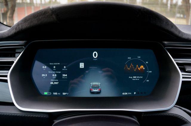 "2015 Tesla Model S 70D - AUTOPILOT - 21"" WHEELS - PREMIUM SOUND Reseda, CA 16"