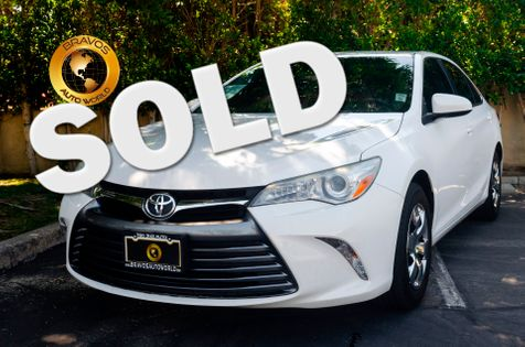 2015 Toyota Camry LE in cathedral city