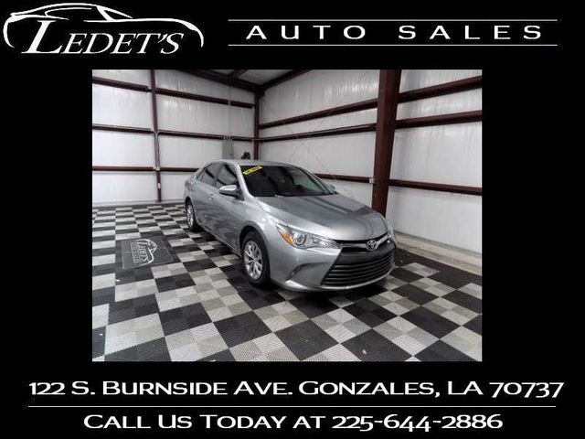 2015 Toyota Camry LE - Ledet's Auto Sales Gonzales_state_zip in Gonzales
